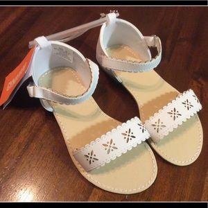 NWT Gymboree dress sandals. Toddler girls size 10.